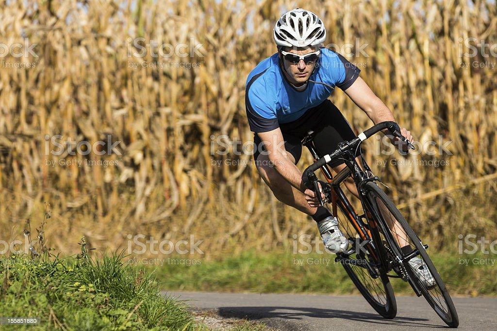 Ciclista - foto stock
