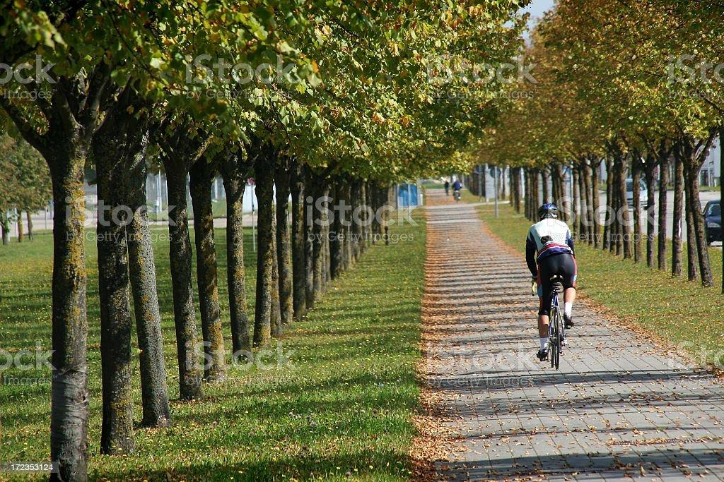 Ciclista foto de stock libre de derechos