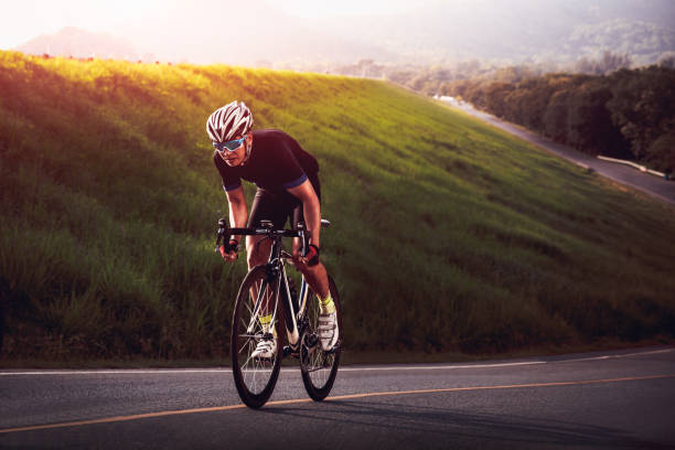 cyclist - cycling stock photos and pictures