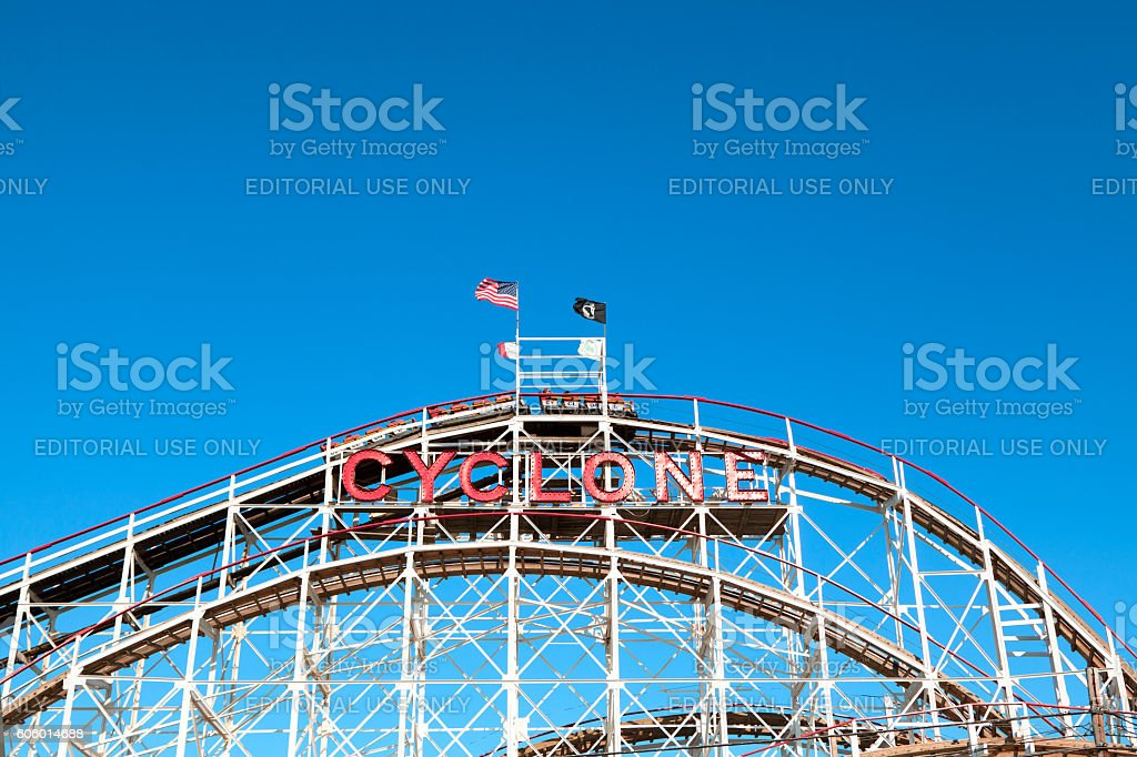 Cyclone stock photo