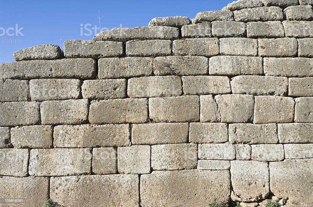 Cyclopean Wall royalty-free stock photo