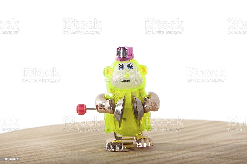 Beckeninstrument spielen Monkey – Foto