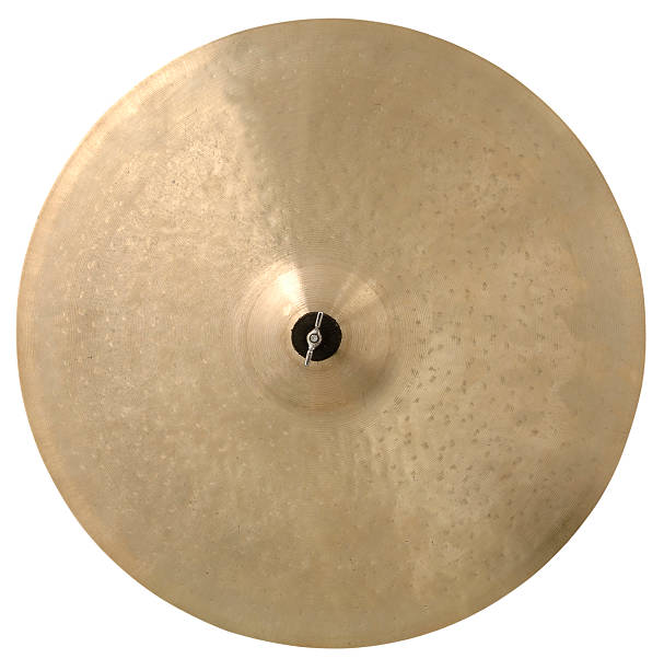 Cymbal with Path Cymbal with Clipping Path Included. cymbal stock pictures, royalty-free photos & images