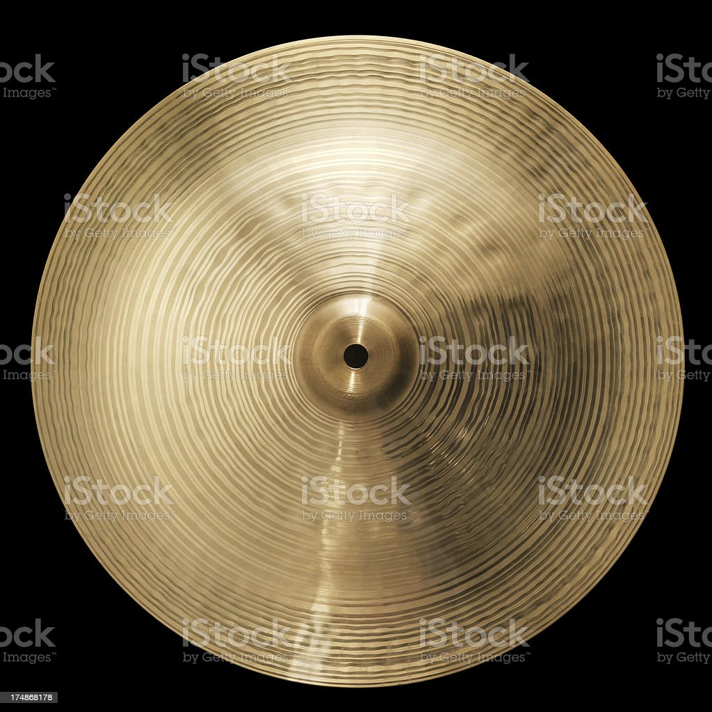Cymbale royalty-free stock photo