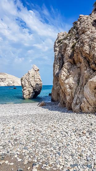 istock Cyprus - Aphrodite's Birthplace - Tropical Beach 1156082283