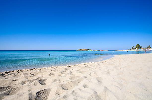 кипр пляж - cyprus стоковые фото и изображения