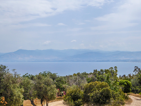 istock Cyprus - Sea view with mountains in the back 1155949847