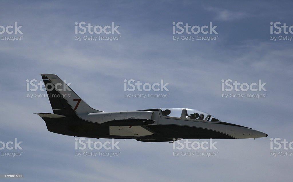 L-39 Czech Jet-7 royalty-free stock photo