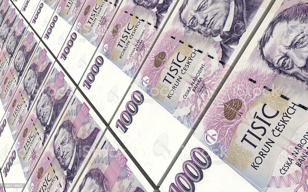 Чешская крона знак сохранность банкнот
