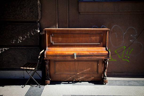 czech piano stock photo