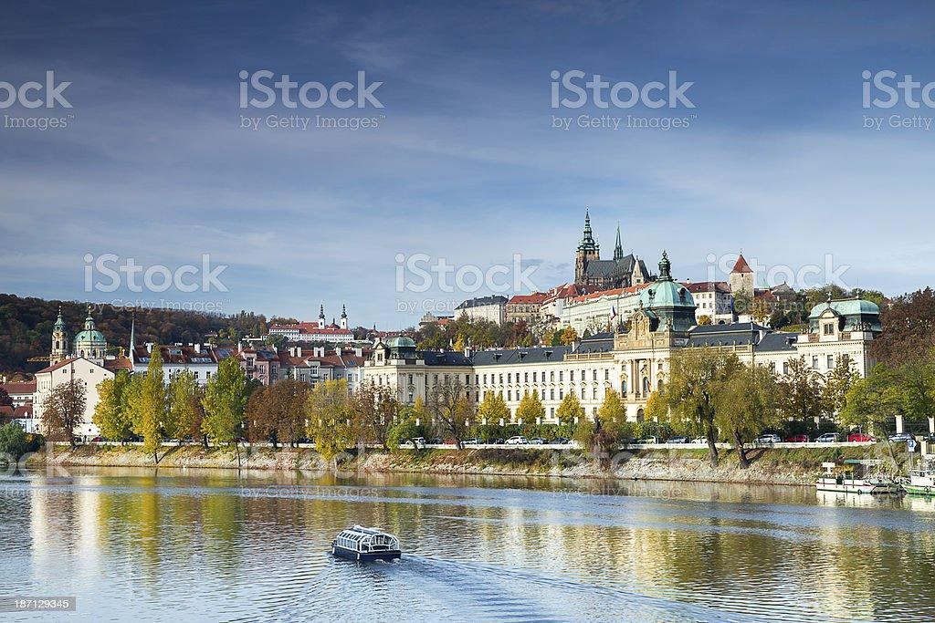 Czech Republic, Prague, Saint Vitus's Cathedral stock photo