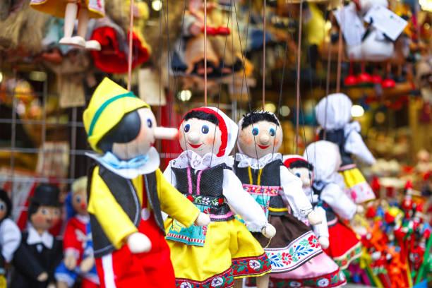 Czech Republic. Prague. Souvenirs from Prague. Toys Czech Republic. Prague. Souvenirs from Prague ToysCloseup marionette stock pictures, royalty-free photos & images