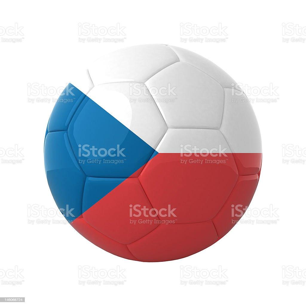 Czech soccer. royalty-free stock photo