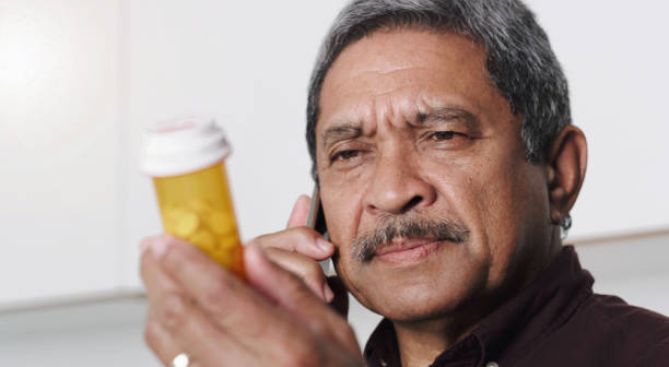 I'd like to order a refill on my prescription stock photo