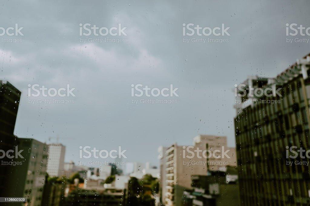 Día Lluvioso - foto de stock