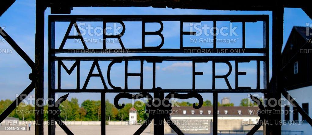 KZ Dachau (Bayern, Deutschland) – Foto