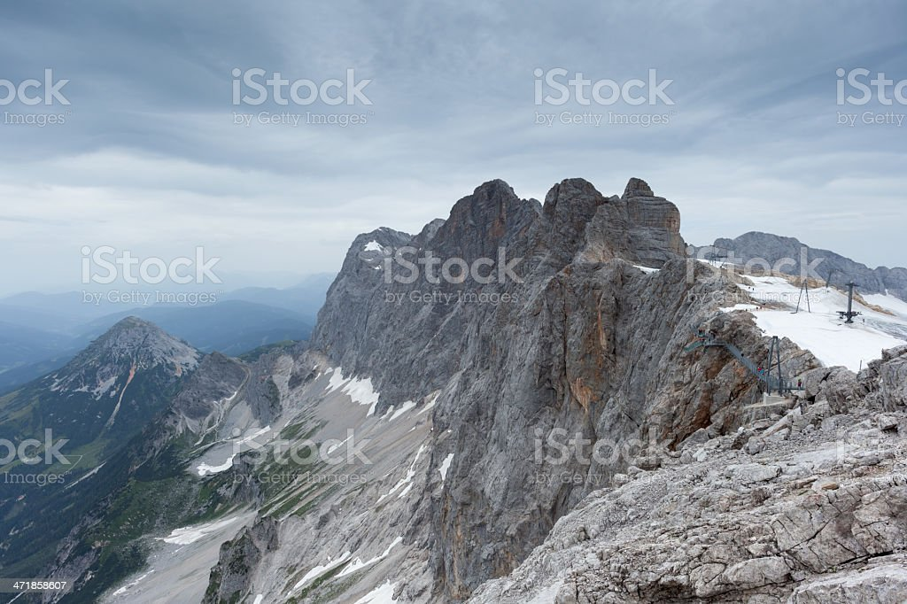 Dachstein Glacier royalty-free stock photo