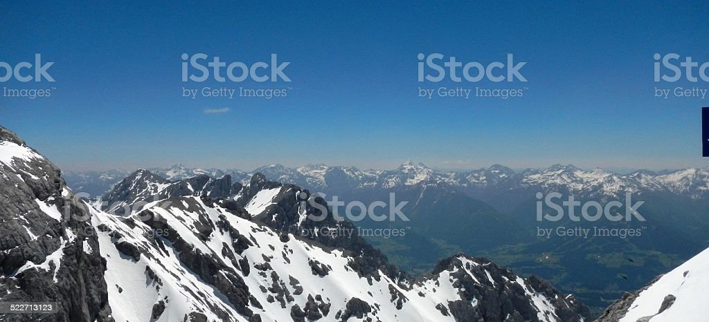Dachstein Mountains Austria stock photo