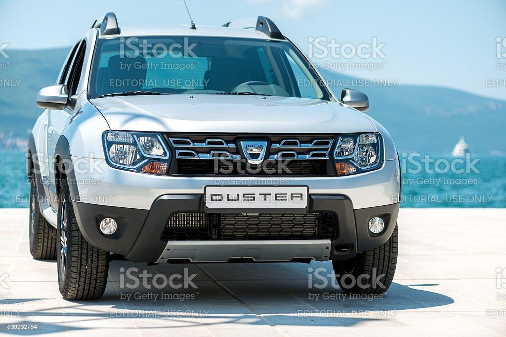Dacia Duster SUV stock photo