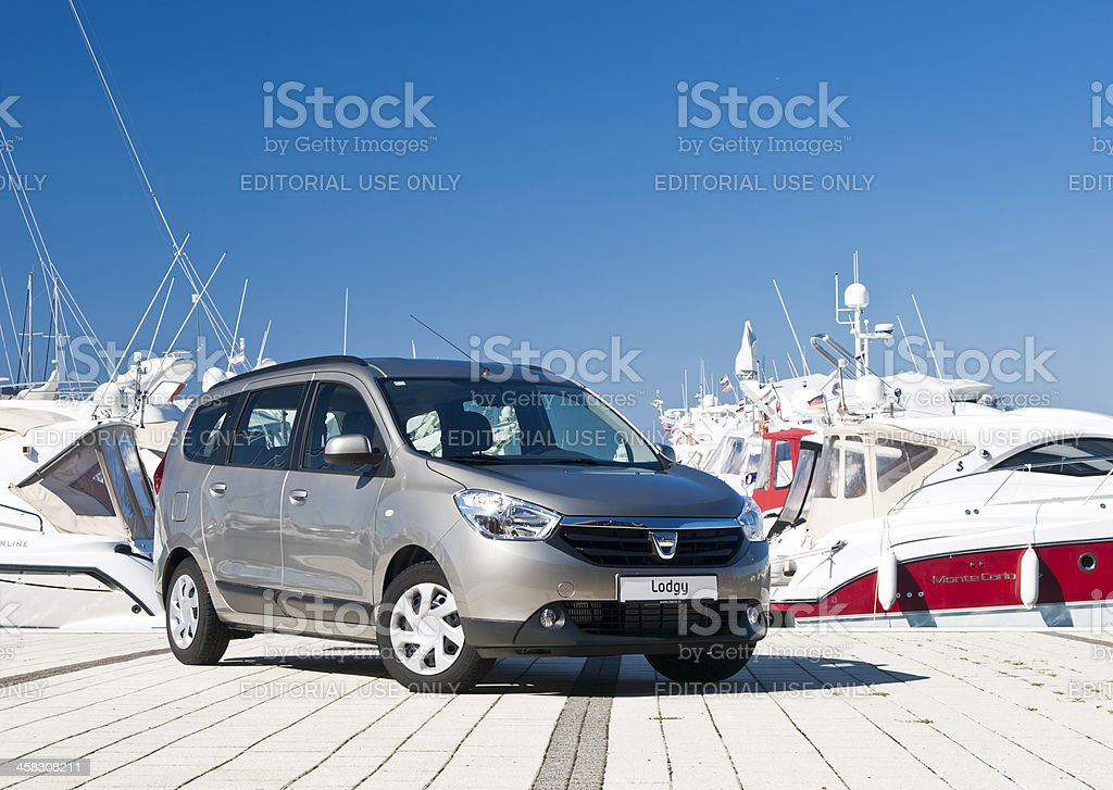 Dacia Lodgy royalty-free stock photo
