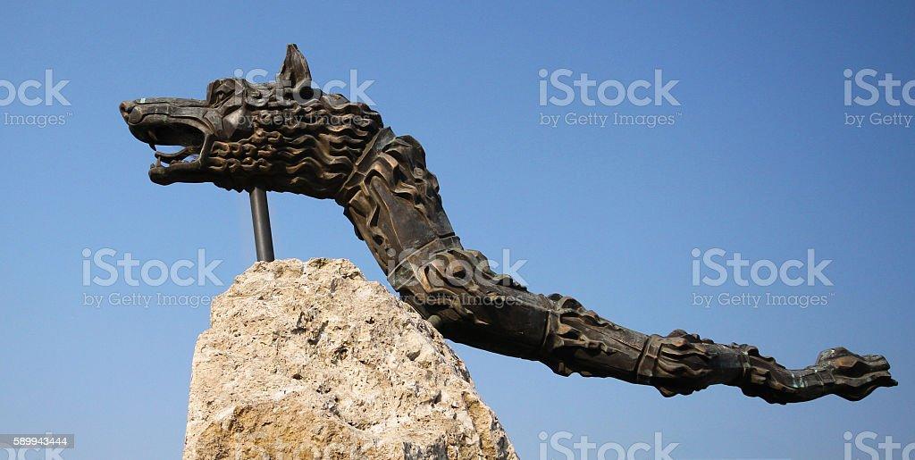 Dacian Draco stock photo