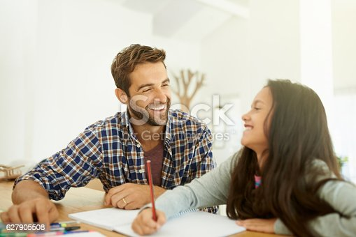 istock Dad always find a way to make everything fun 627905508