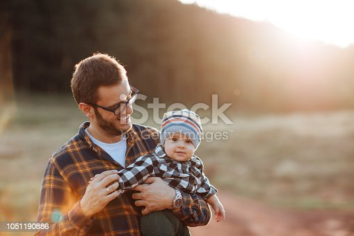 istock Dad playing with his son 1051190886