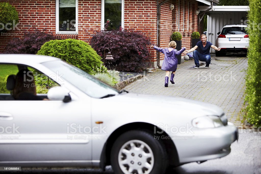 Daddy!! royalty-free stock photo