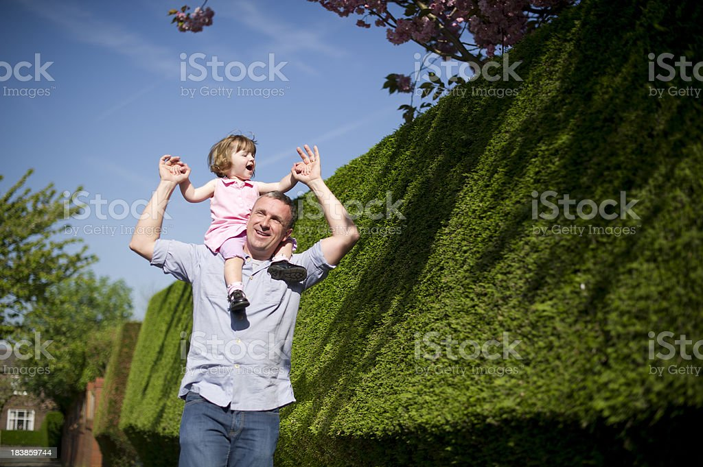daddy time stock photo