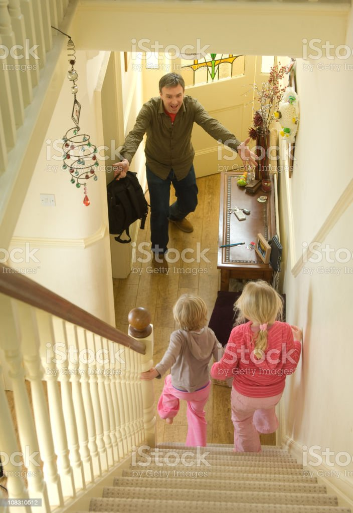 daddy's home stock photo