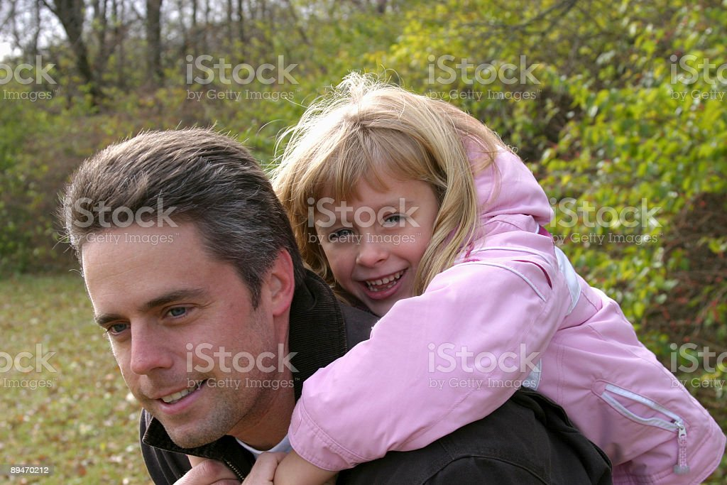 Daddy's Little Girl royalty-free stock photo