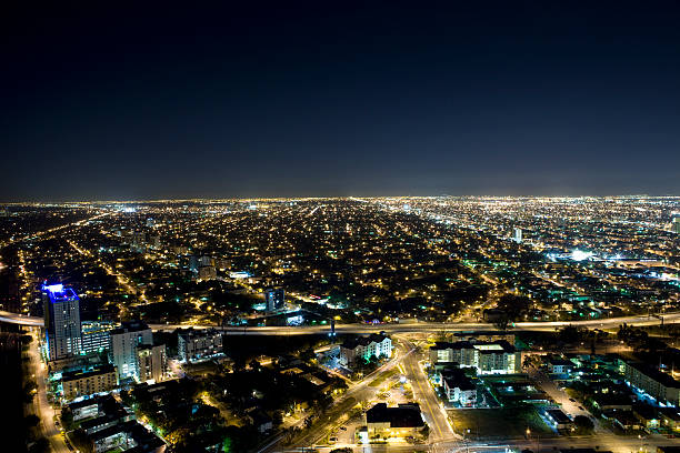 Dade County Nights in Miami stock photo