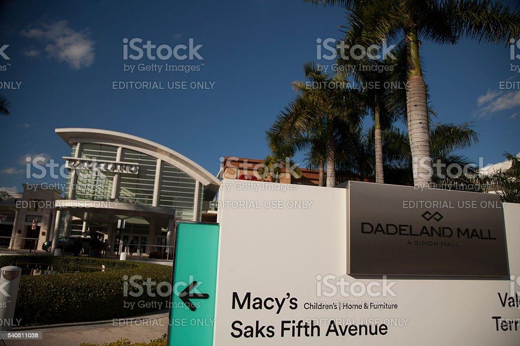 Dadeland Mall stock photo