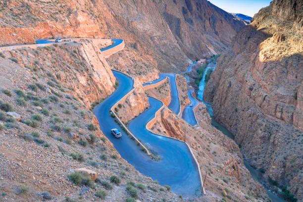 Dades Gorges, Morocco stock photo