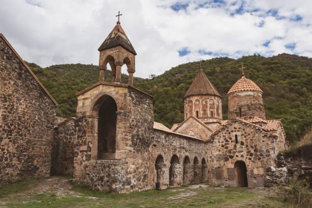Dadivank Armenian monastery in Nagorno-Karabakh stock photo