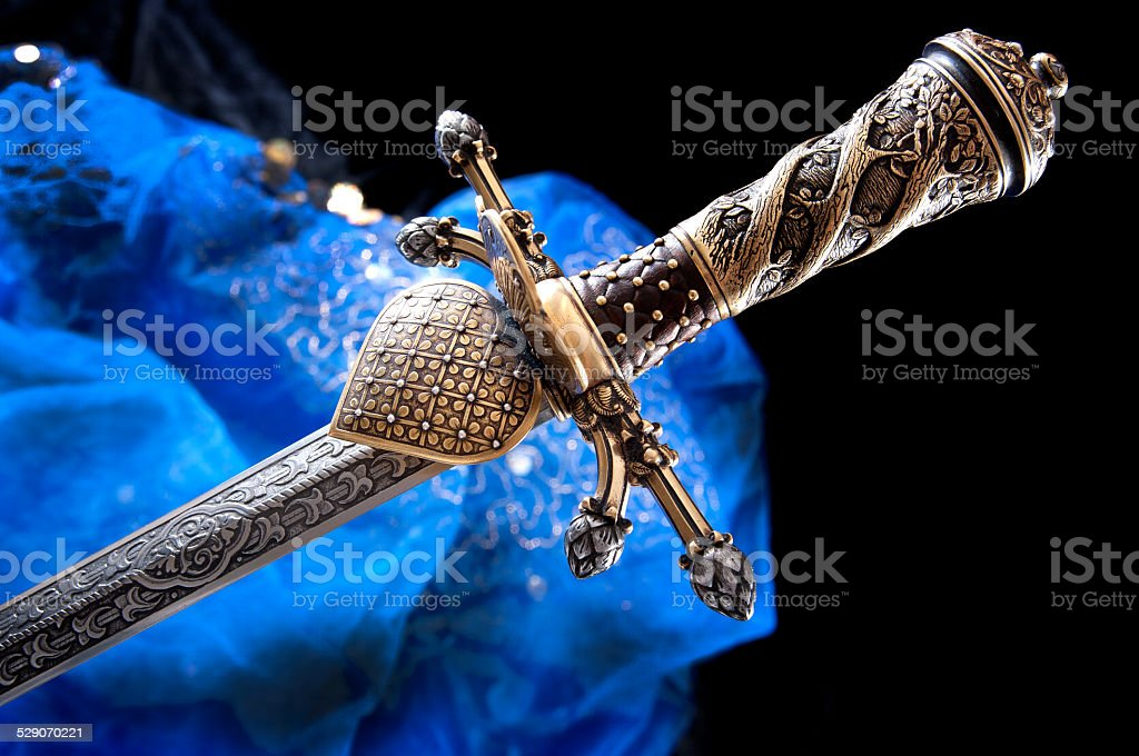 dagger stock photo