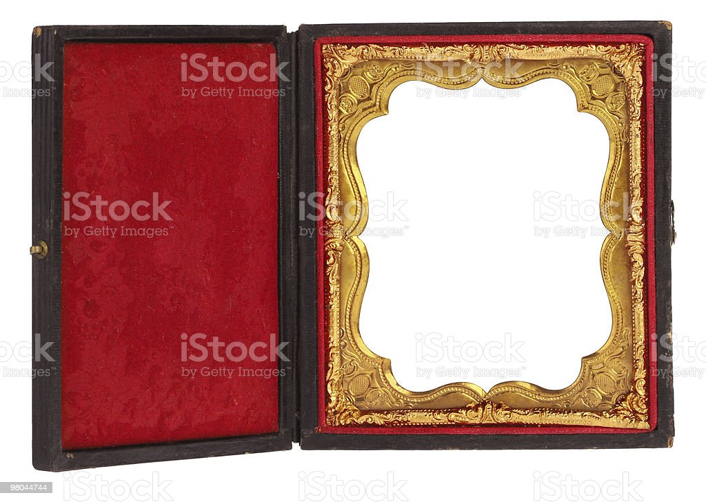 Daguerreotype Picture Frame royalty-free stock photo