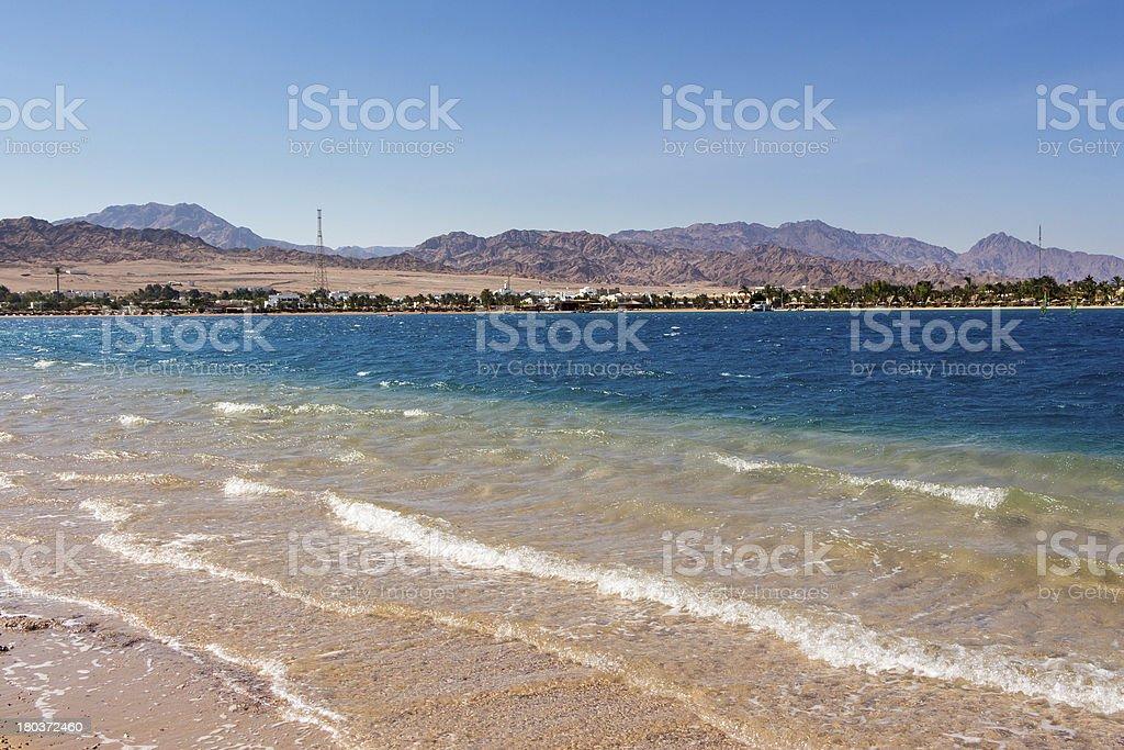 Dahab Egypt stock photo