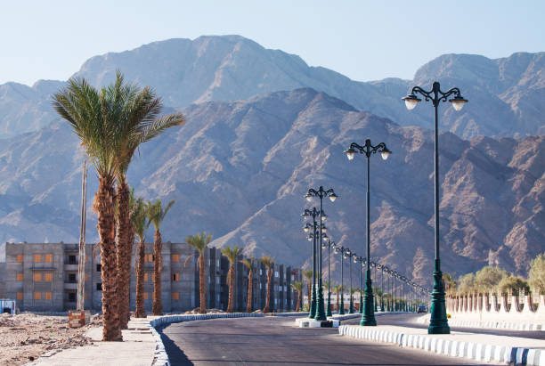 Dahab, Egypt stock photo