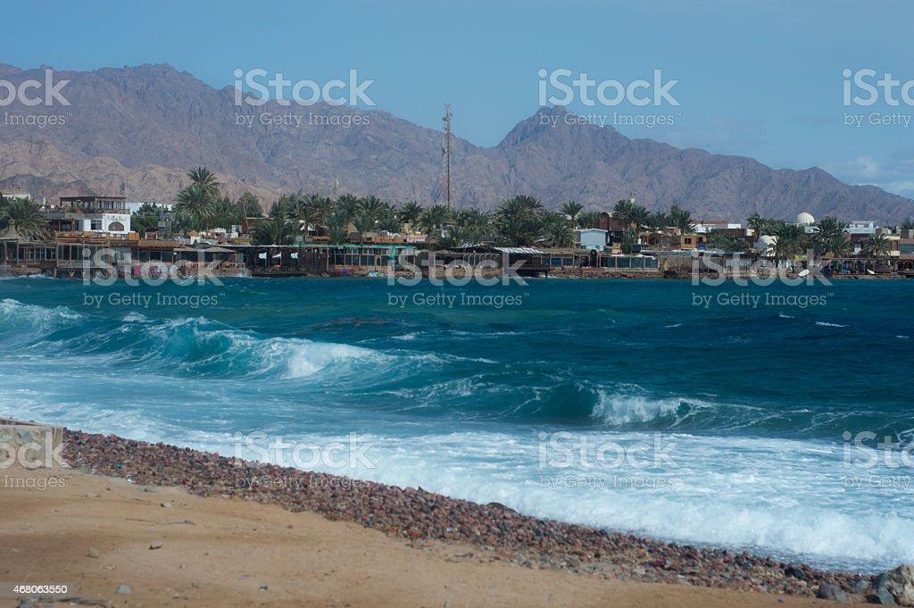 Dahab Sea stock photo
