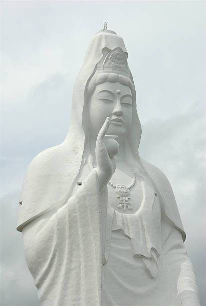 Dai Kannon of Sendai, Japan stock photo