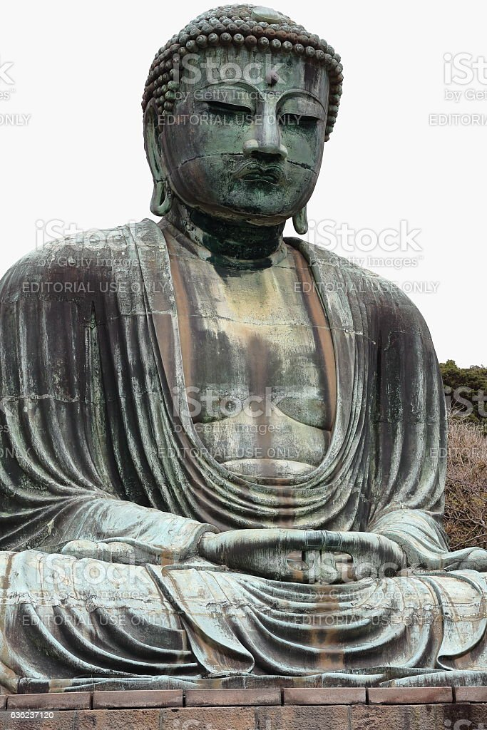 Daibutsu or Great Buddha. Kotoku- in temple in Kamakura-Japan. 7753 stock photo