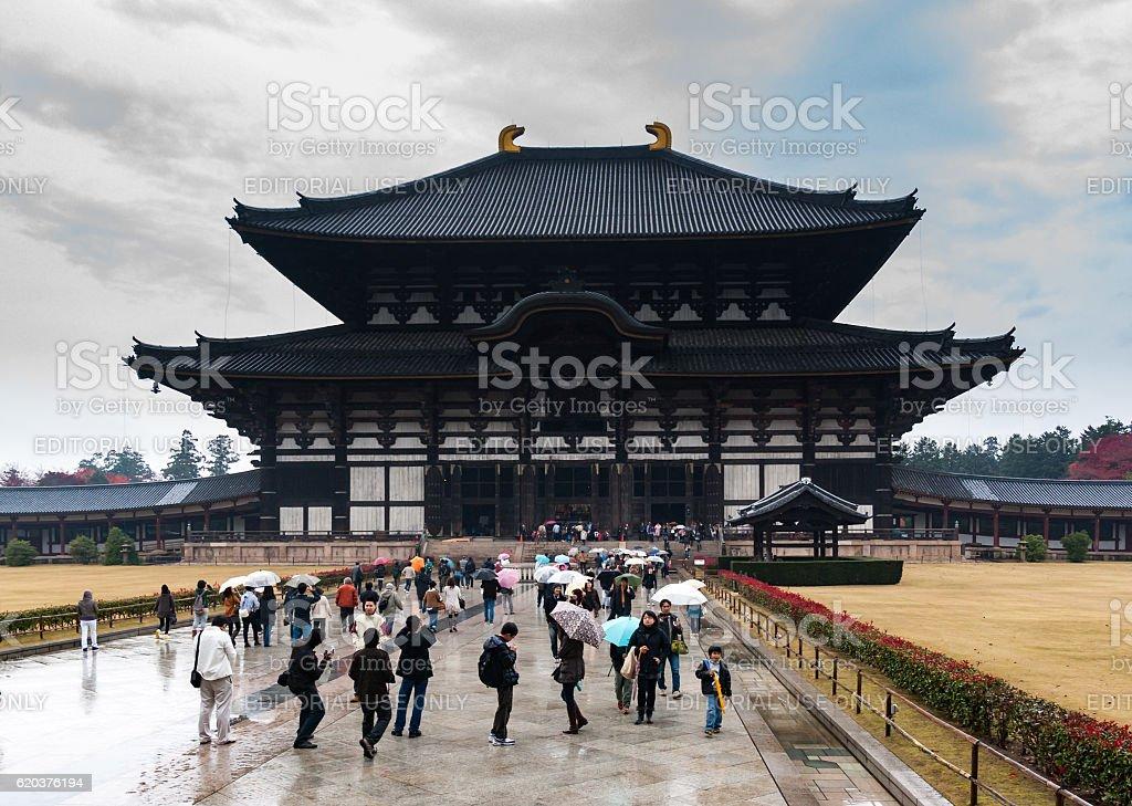 'Daibutsu-den' or 'Great Buddha Hall' at Todai-ji, Nara foto de stock royalty-free