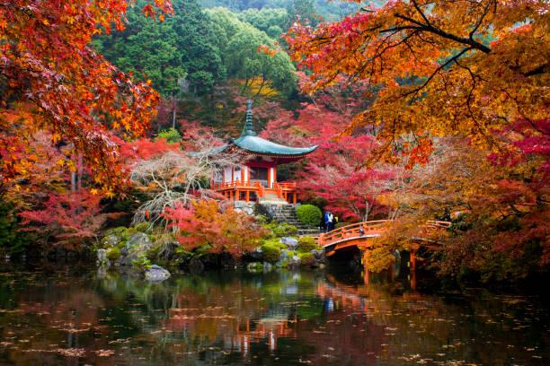 daigoj, kioto, japón - kyoto fotografías e imágenes de stock