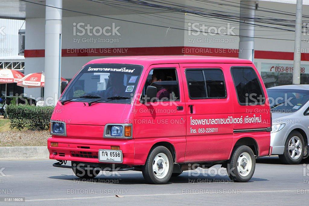 Daihatsu Old Van Car Of Sense Peter Eye Hospital Stock Photo More