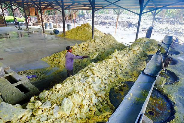 Best Sulfur Or Sulphur Powder Stock Photos, Pictures