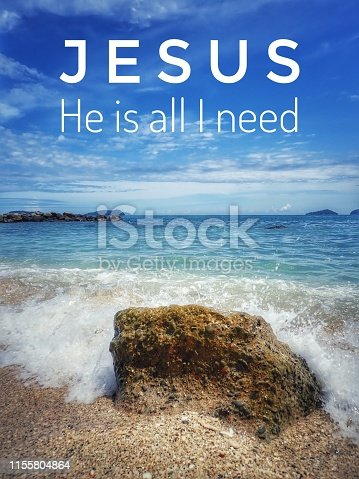 istock A daily bible verse for God's Word for encouragement, peace and healing throughout today. 1155804864
