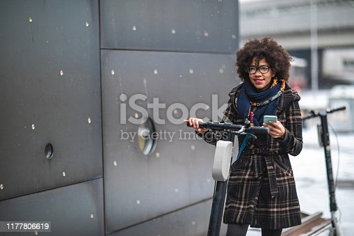 istock Daily commute to work 1177806619