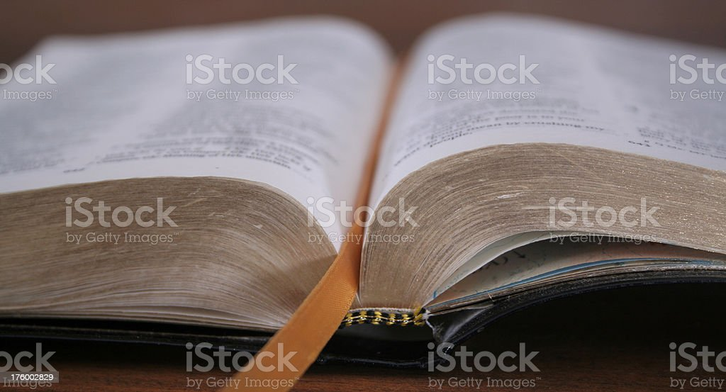 Daily Devotion stock photo