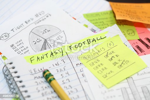 Daily Fantasy Football lineup research.